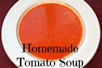 31 Days of Autumn {Day 30}: Homemade Soup Recipe