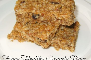 Easy Healthy Granola Bars