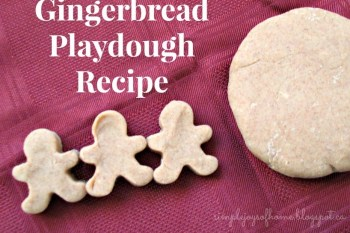 Homemade Holiday: Gingerbread Play Dough Recipe