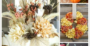 Pretty Fall Decorating