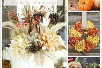 Pretty Fall Decorating