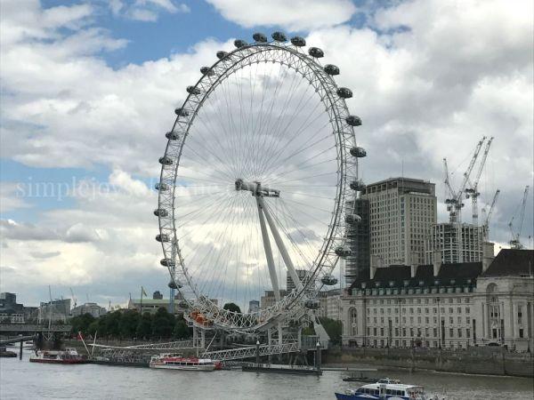 The London Eye | Simple Joys Of Home
