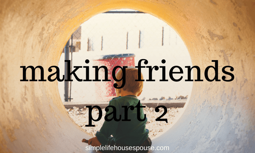 making friends part 2