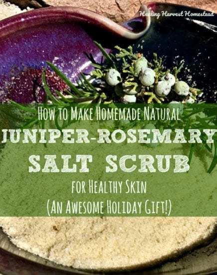 Homestead Blog Hop - Blog+Pic+Juniper+Salt+Scrub