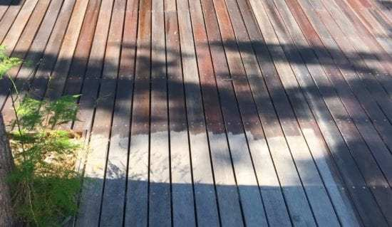 Homestead Blog Hop Feature - How to Revive a Deck with Linseed Oil