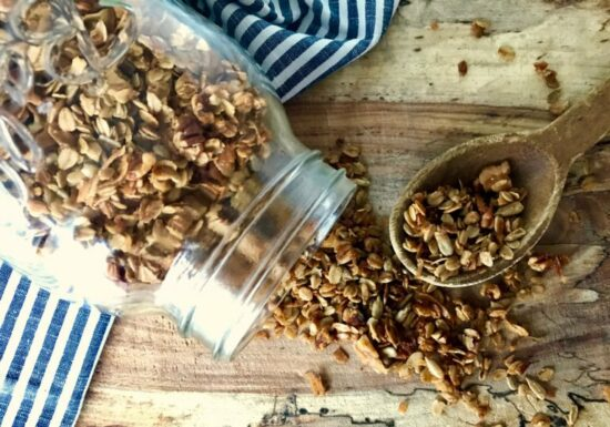 Homestead Blog Hop Feature - homemade-granola-recipe