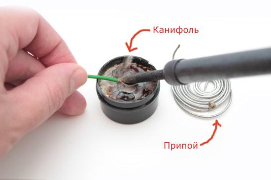 Persiapan besi solder