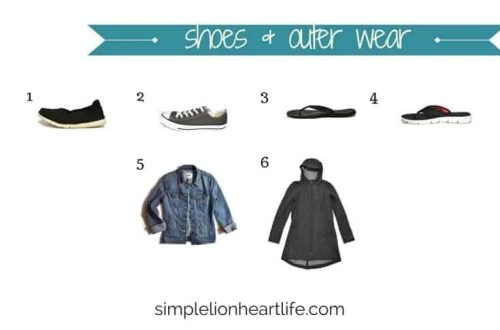Summer capsule wardrobe - 2017 stay at home mom summer capsule wardrobe (shoes & outer wear)