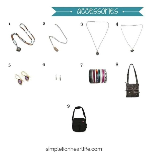 Summer capsule wardrobe - 2017 stay at home mom summer capsule wardrobe (accessories)