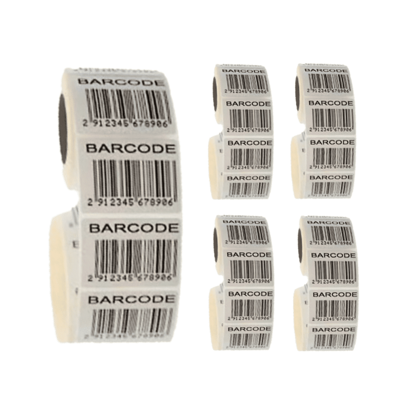 5000 library barcode labels