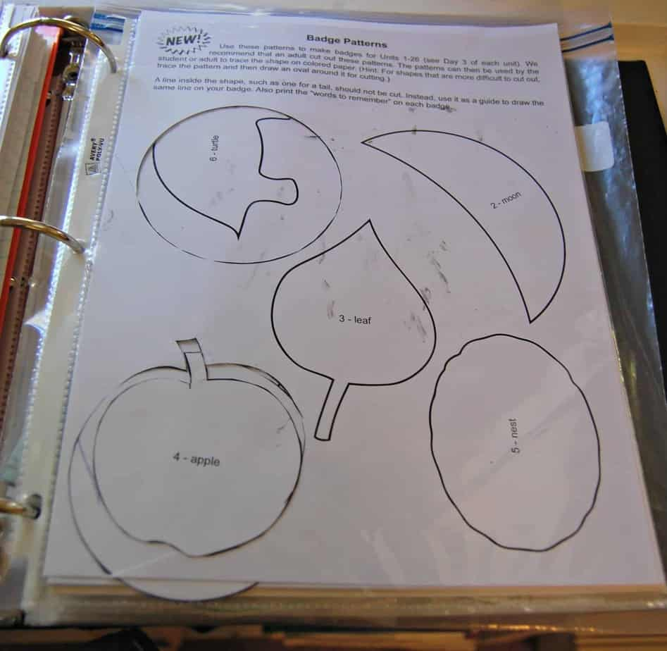 How To Organize My Father S World Kindergarten Curriculum
