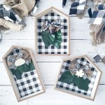 21 Ways To Use Dollar Tree Wooden Houses Simple Made Pretty 2021