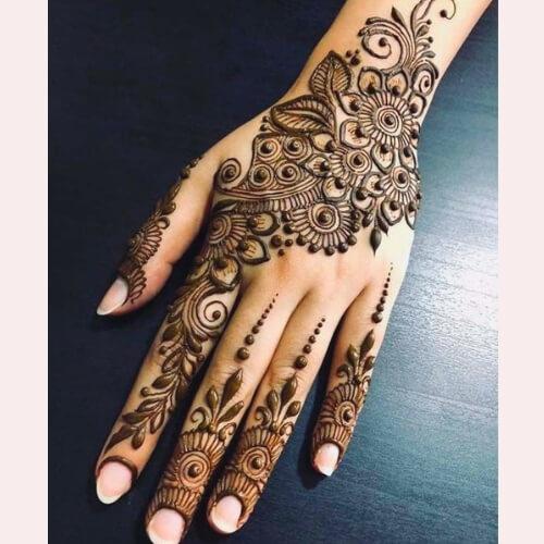 Eid Mehndi Designs Simple Eid Mehendi Designs 2019