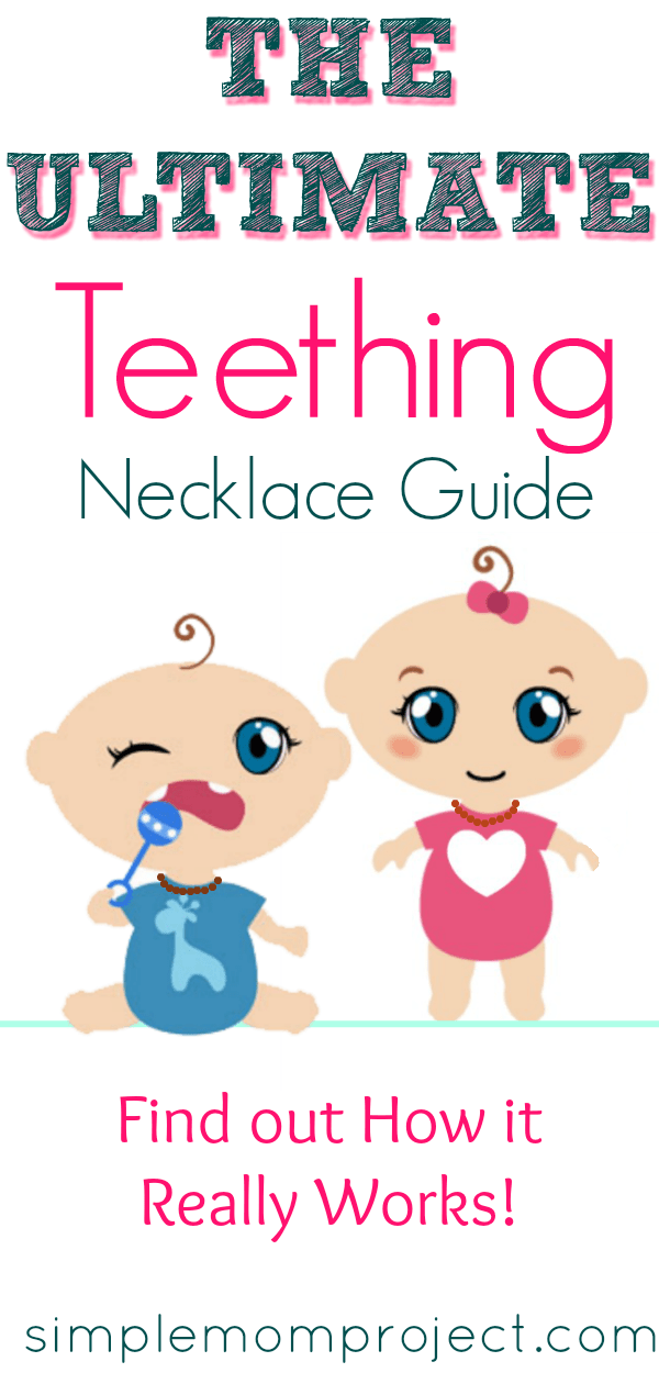 Amber teething necklaces are the most natural remedy to relieve teething symptoms | Find out how the many benefits amber teething necklaces can be used for baby, toddler and mom!!