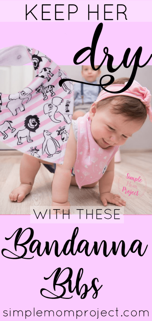 For the DIY mom w/ no time - Keep your baby girl dry from drool and clean from mess with these cute, 100% cotton bandanna bibs. Comes in 8 different adorable patterns! | These make an excellent baby shower gift!