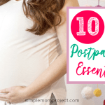 Check out this survival guide and hospital checklist for the best tips and products all new and expecting mothers need for the quickest postpartum recovery!
