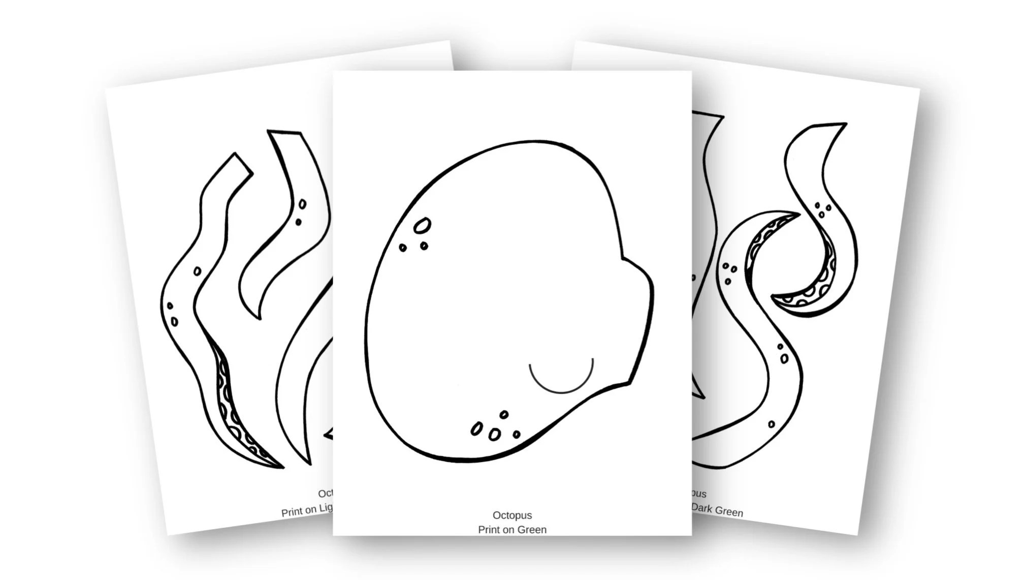 Adorable Octopus Ocean Animal Craft For Kids