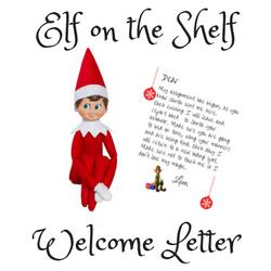 photo regarding Elf on the Shelf Goodbye Letter Free Printable known as Totally free Elf Upon The Shelf Welcome Letter Printable - Basic Mother