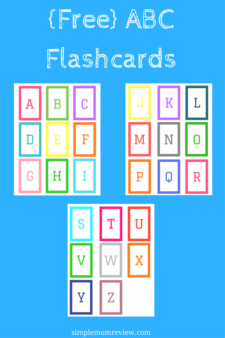 picture relating to Abc Printable Flashcards referred to as ABC Flashcards: Cost-free Printable - Uncomplicated Mother Study