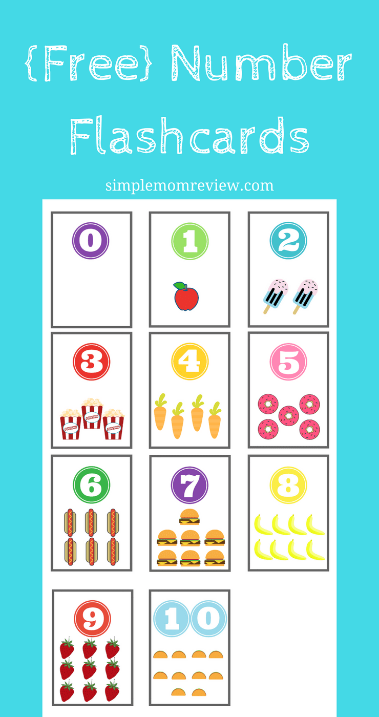 picture about Number Flashcards Printable known as Variety Flashcards: Totally free Printable - Straightforward Mother Research