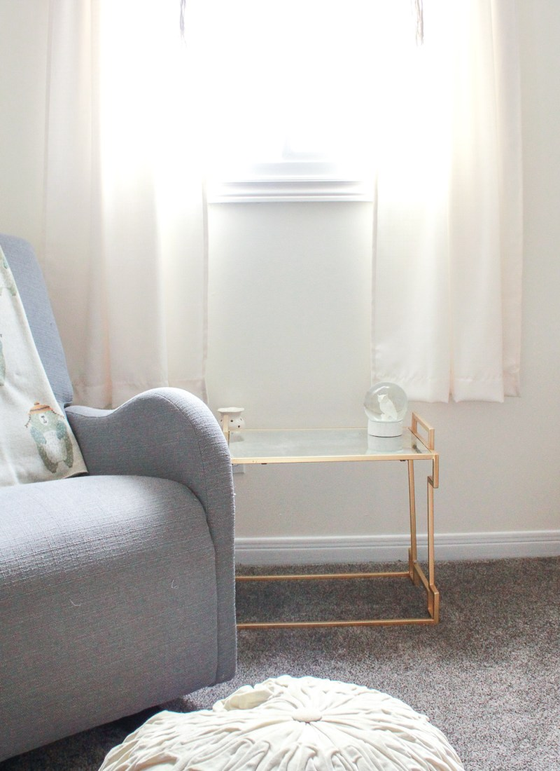 baby boy gender neutral nursery