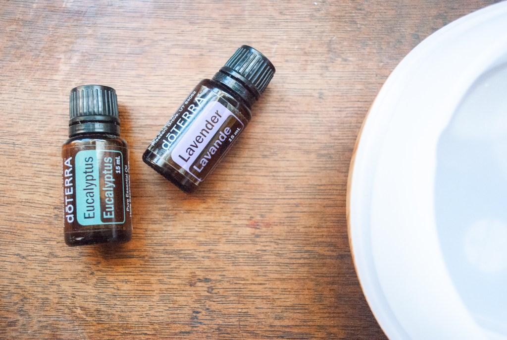 Lavender and Eucalyptus Doterra Essential Oils