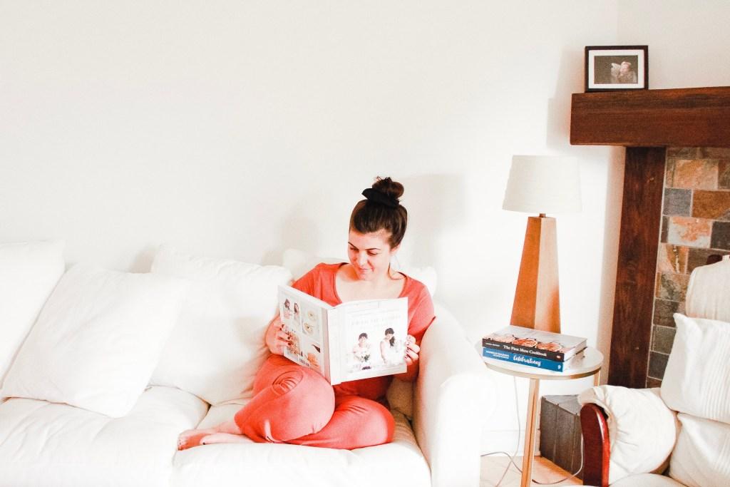Women Reading Cookbook