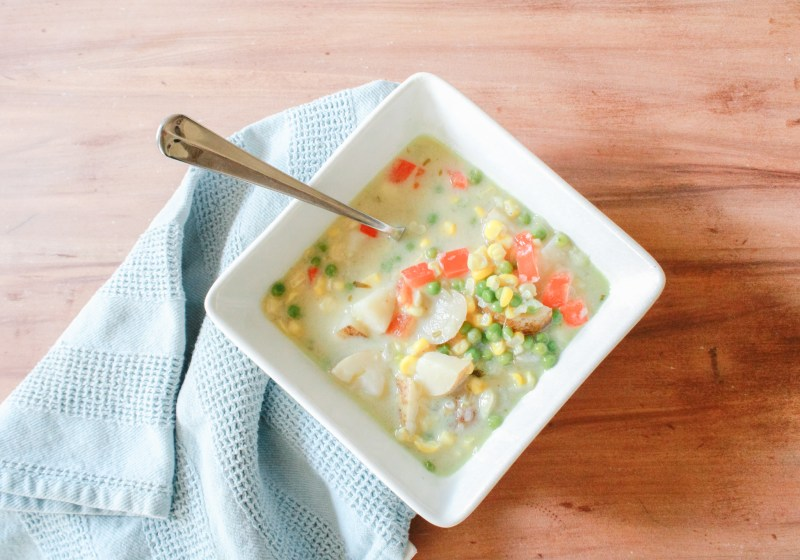 Hearty and Healthy Vegan Corn Chowder
