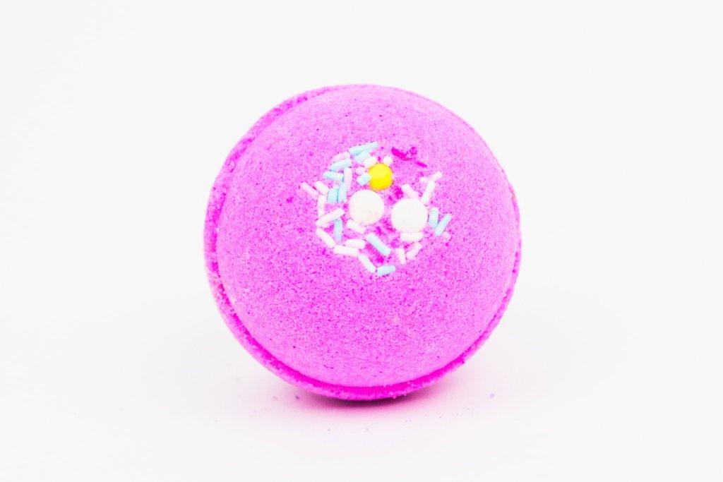 Pink Posh Fox Pink Sugar Sprinkles Bath Bomb