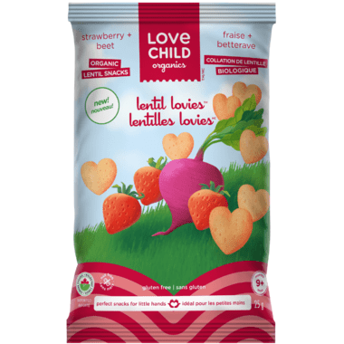 Bag of Love Child Organics Lentil Lovies