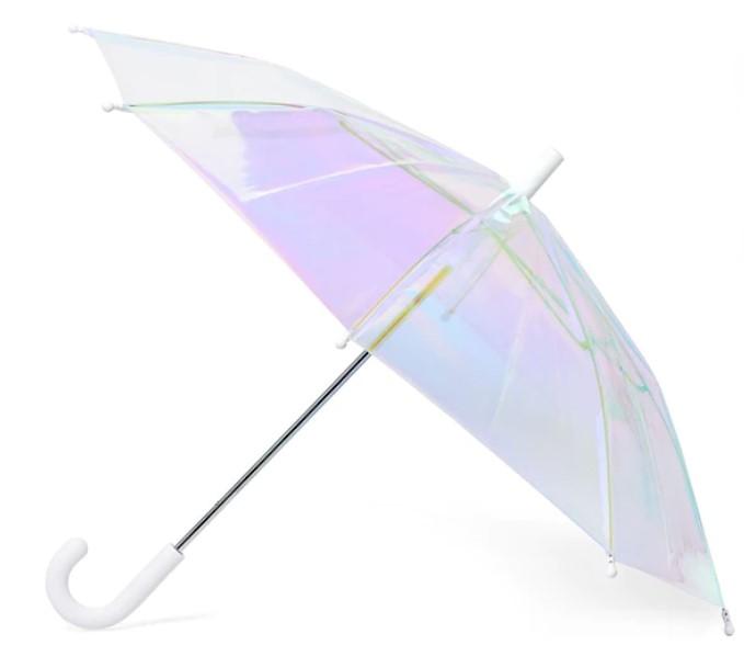 Hipsterkid holographic umbrella