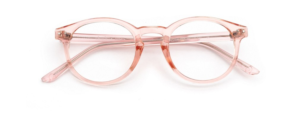 Eyeglasses Frames for Women Clearly Basics Grates Cove Blush Clearly.ca