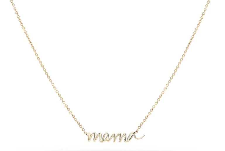 bluboho mama script necklace mother's day gift ideas