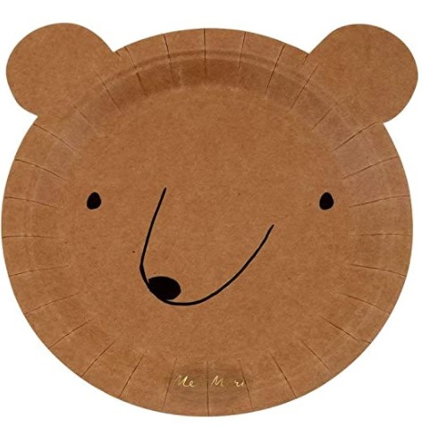 Meri Meri Bear Plates