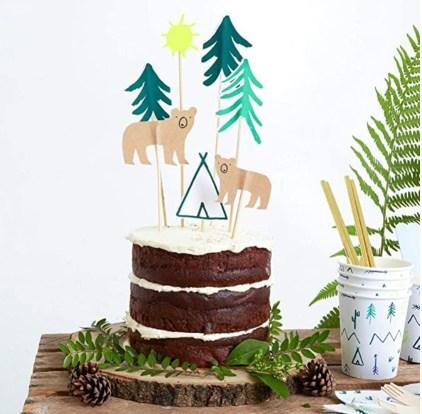 Meri Meri Let's Explore Cake Topper