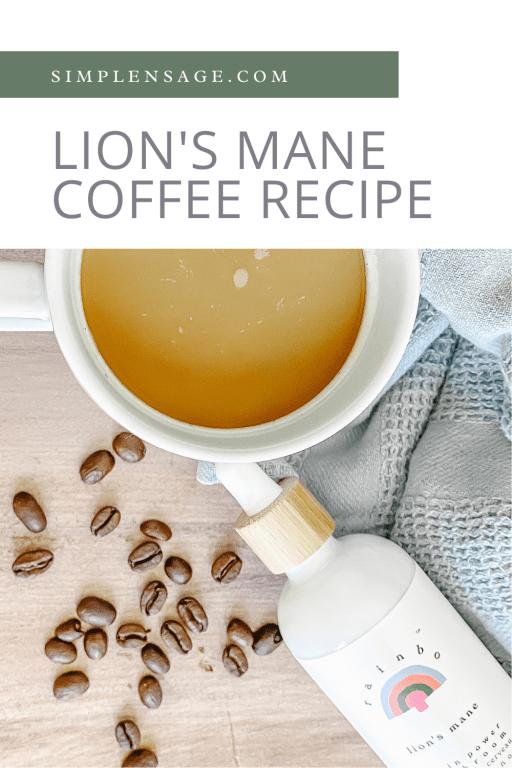 Lion's Mane Coffee Recipe