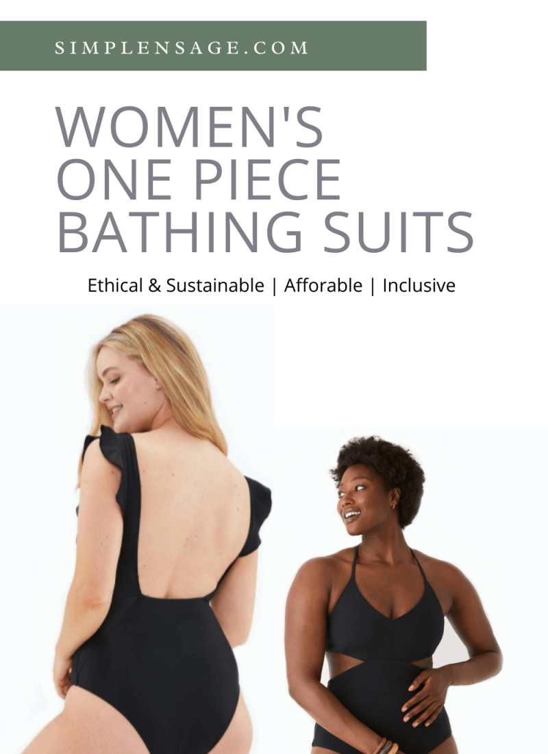 Women's One Piece Bathing Suits: My Favourites for 2021