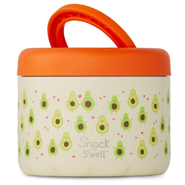 S'nack x S'well Avocados Food Container