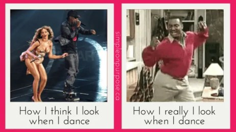 How I think I look when I dance
