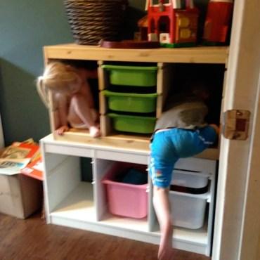 kids toy bins post purge