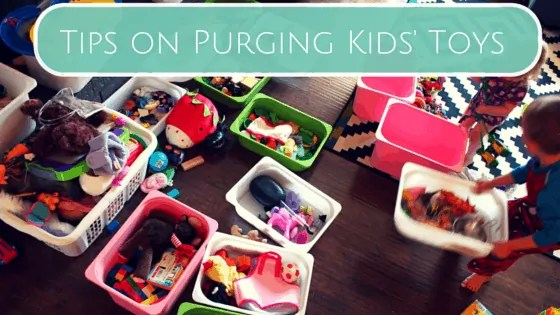 Tips on Purging Kids' Toys