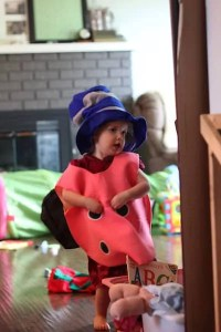 lady bug with magic hat