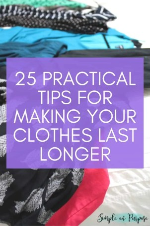 make clothes last longer tips