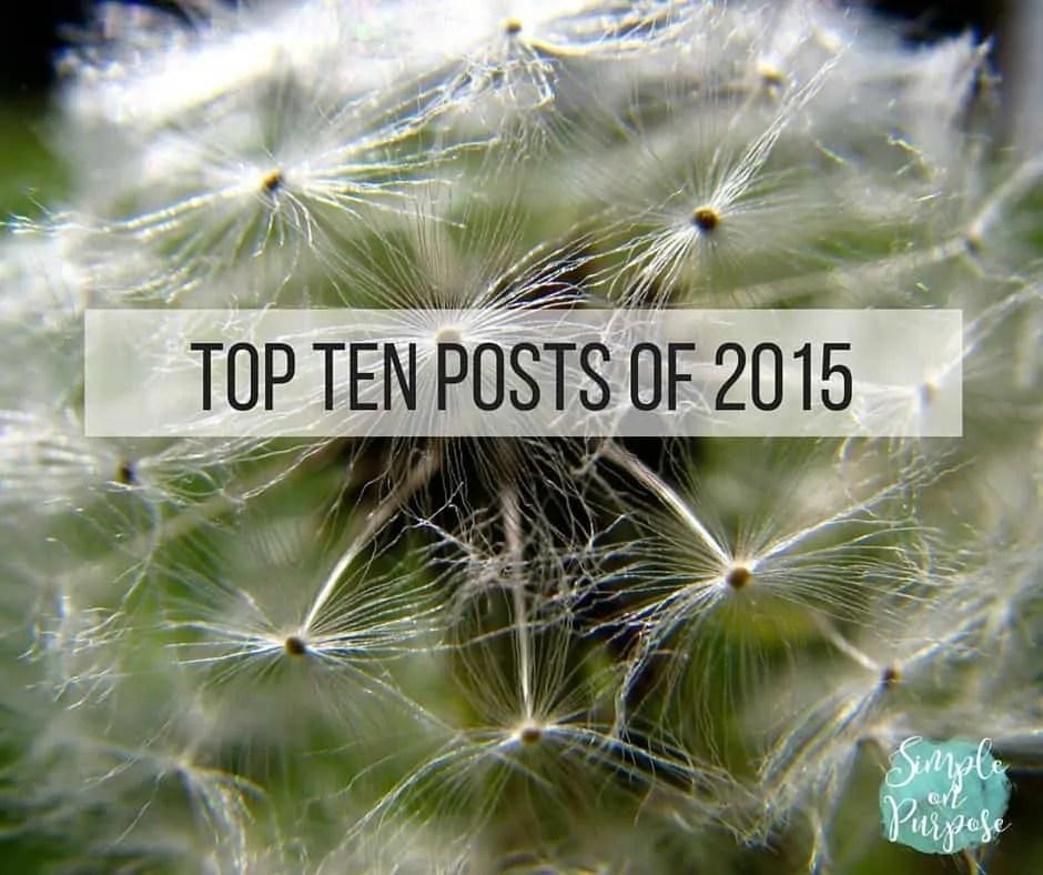 The Top Ten of 2015