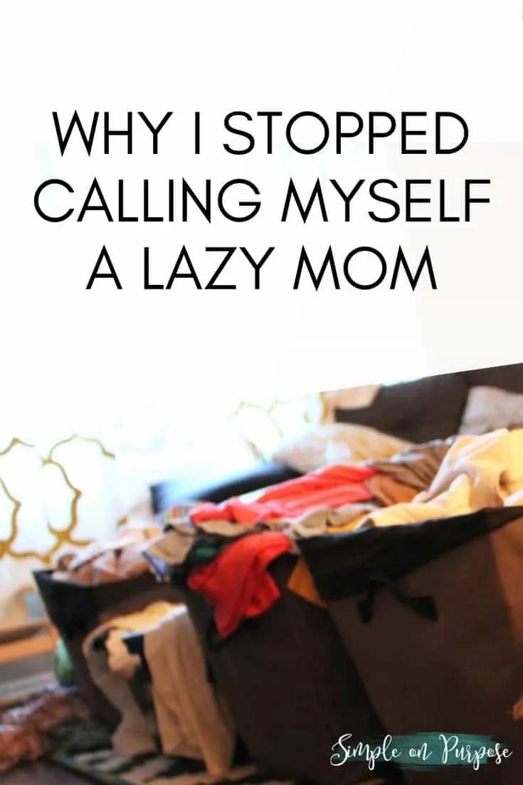 lazy mom