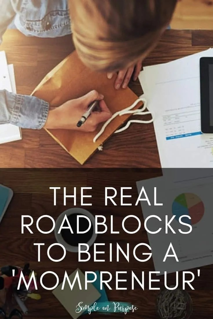 The Real Roadblocks to Being a 'Mompreneur'