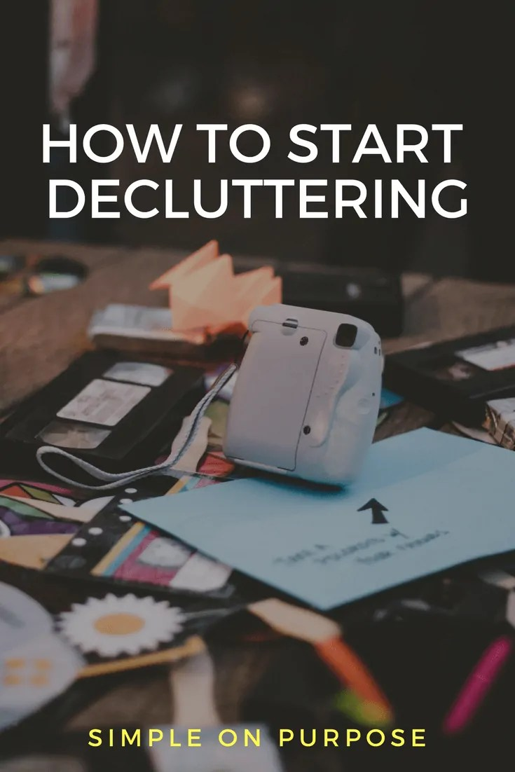 How to Get Yourself Started Decluttering