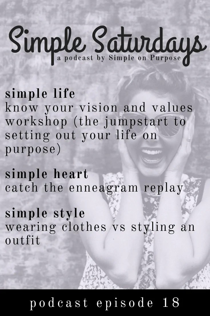 know your values and vision to set out your life on purpose plan moms