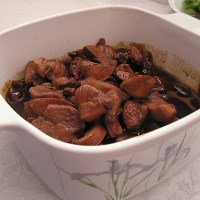 Stir-Fried Soy Sauce Chicken
