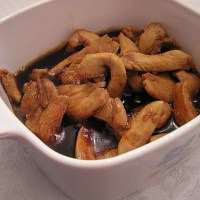Stir-Fried Chicken with Unagi Sauce